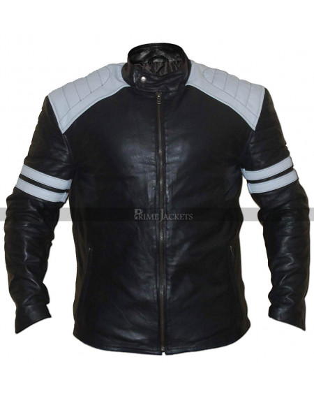 Dave Franco Nerve Biker Leather Jacket