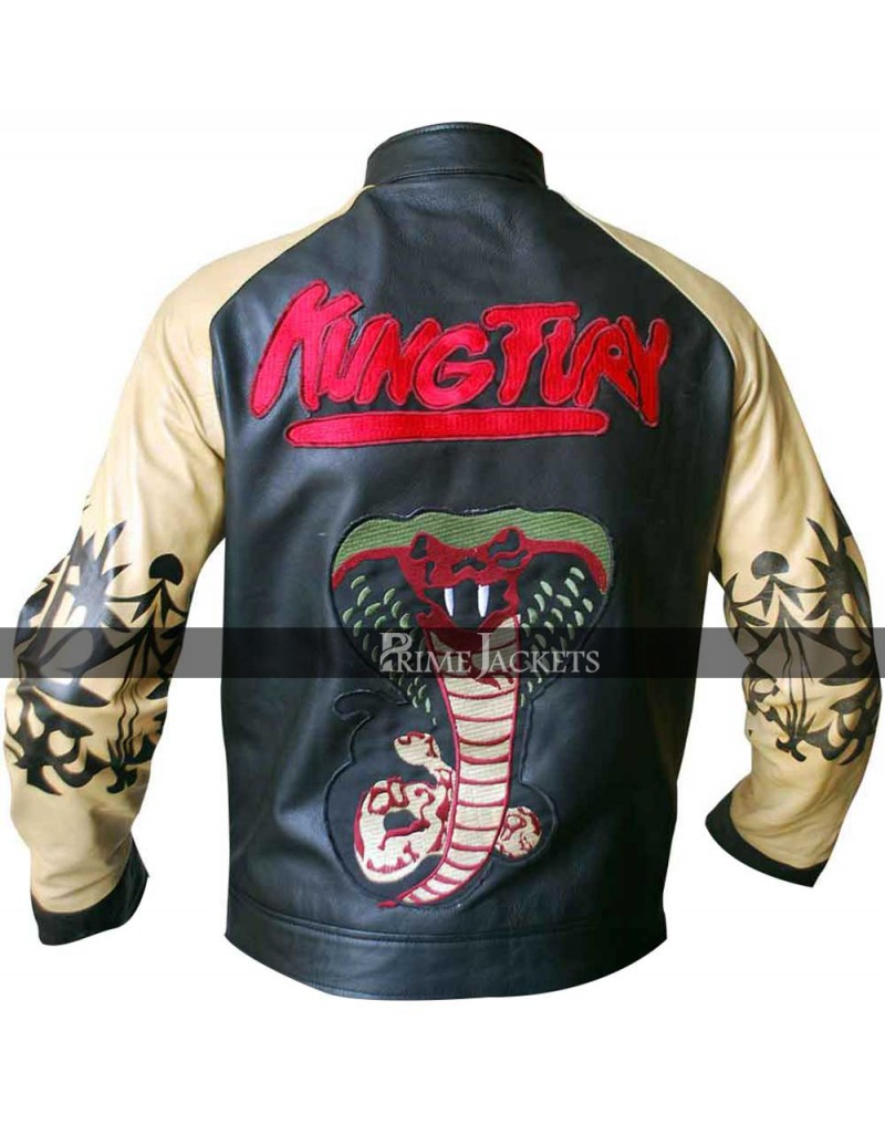 Kung Fury David Hasselhoff Motorcycle Leather Jacket