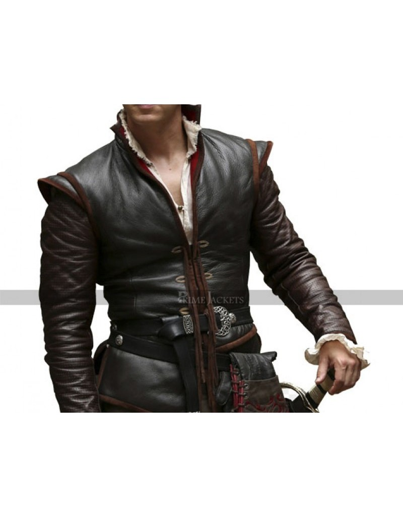 Prince Charming Once Upon A Time Leather Costume Jacket