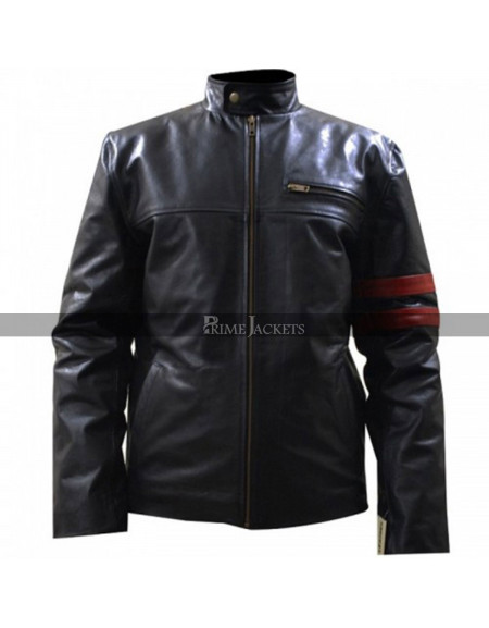 Death Sentence Kevin Bacon (Nick Hume) Leather Jacket