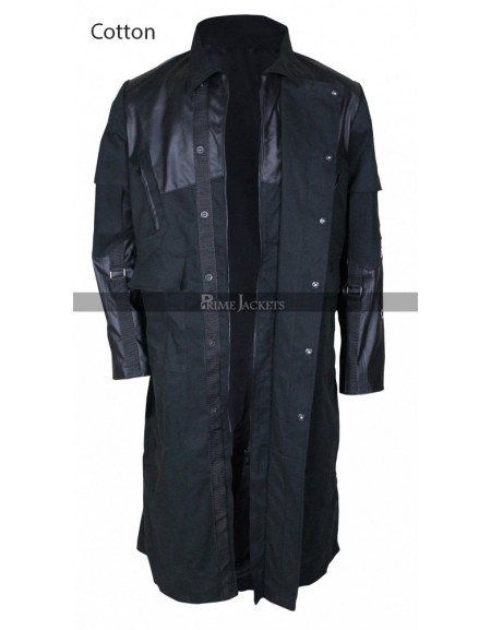 Adam Jensen Deus Ex: Mankind Divided Leather Coat