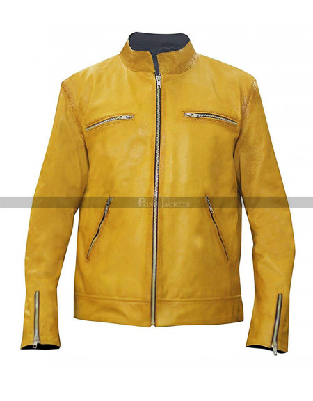 Samuel Barnett (Dirk Gently) Dirk Gently's Holistic Detective Agency Leather Jacket