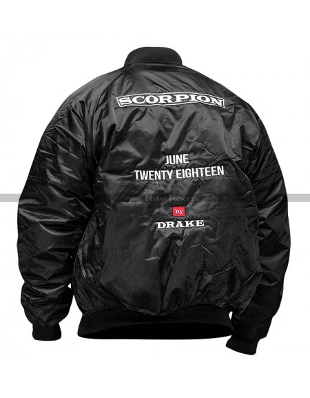 Drake Scorpion June Twenty Eighteen Jacket