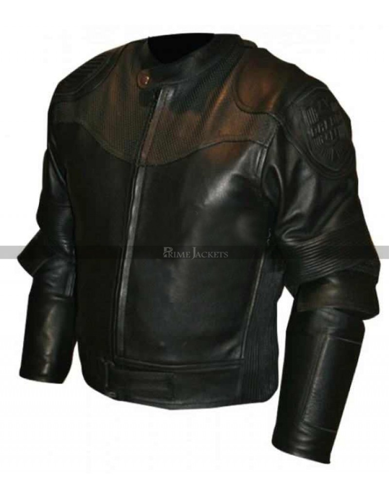 Karl Urban Judge Dredd Movie Black Jacket
