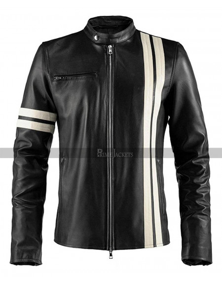 Driver San Francisco Leather Jacket for Men