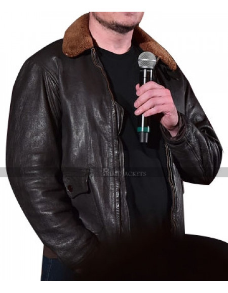 Elon Musk Winter Shearling Jacket