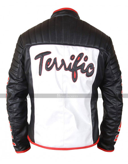 Michael Holt Mister Terrific Fair Play Leather Jacket