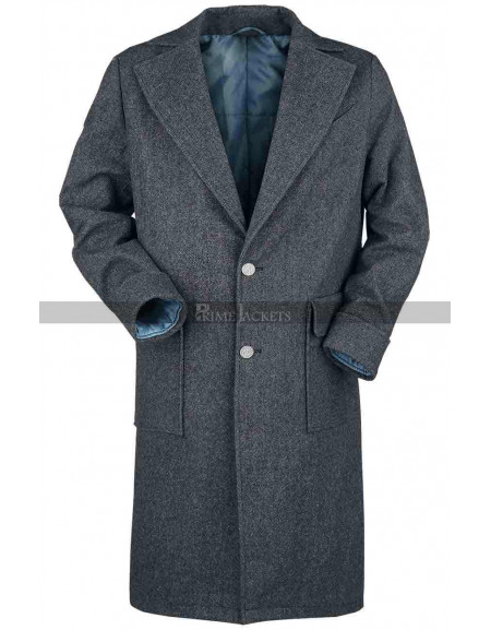 Fantastic Beasts Crimes of Grindelwald Newt Scamander Grey Coat