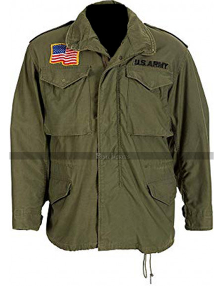 First Blood John Rambo Commando Jacket