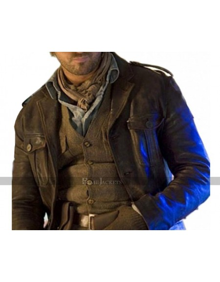 Alex Rover Nim's Island Leather Jacket