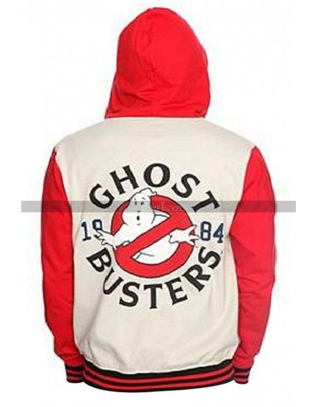 Ghostbusters Stylish Logo Varsity Jacket