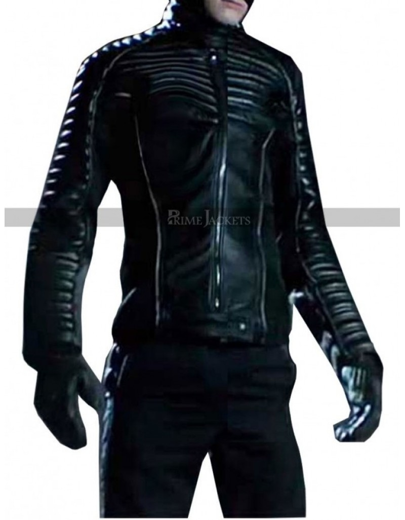 New Celebrity Spider Man Last Stand Designer Peter Parker Leather Jacket.