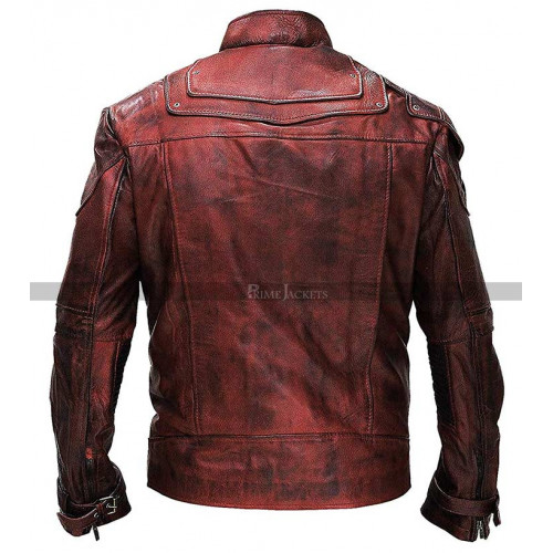 Star-Lord Guardians of the Galaxy Vol 2 Distressed Jacket