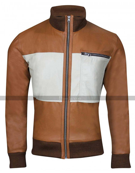Ken Jeong The Hangover Mr Chow Bomber Leather Jacket