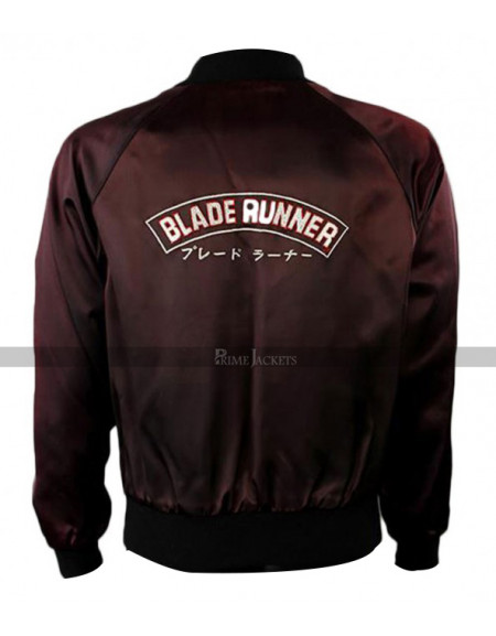 Blade Runner Crew Jacket with Patch
