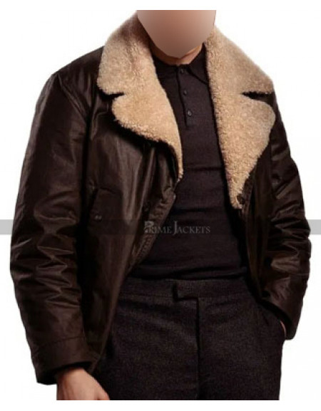 The Gentlemen Dry Eye Shearling Jacket
