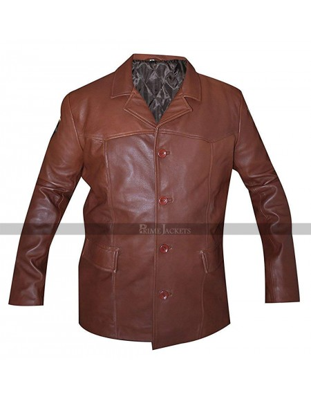 Lou Diamond Phillips Longmire Brown Jacket