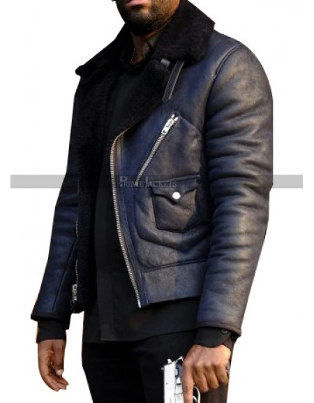 24 Legacy Ashley Thomas Fur Collar Jacket