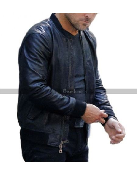George Eads MacGyver Leather Jacket