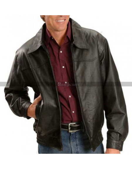 John Bradshaw Layfield Leather Jacket