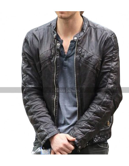 Luke Mitchell The Tomorrow People Jacket