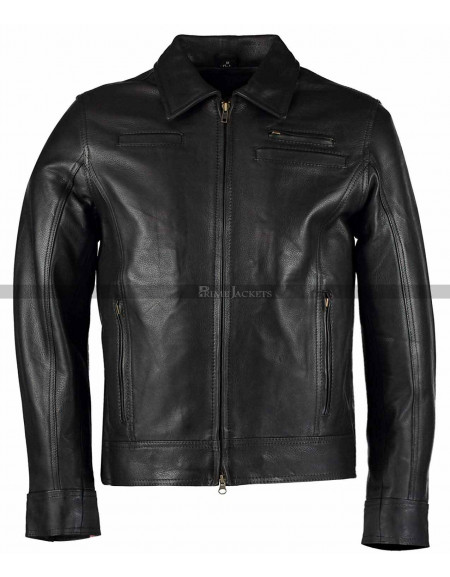 Looper Joe Black Leather Jacket