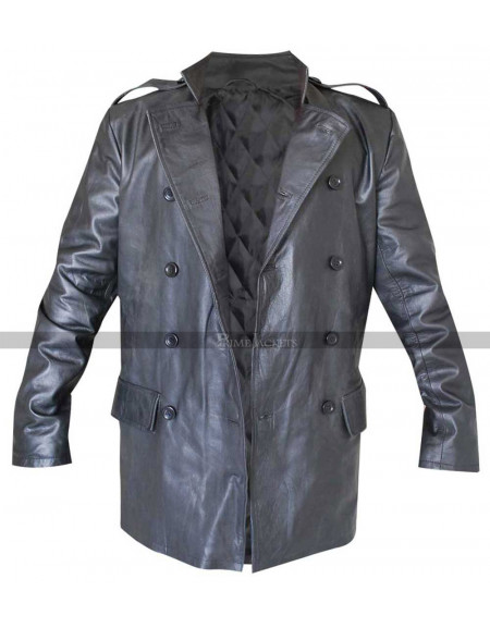 The Green Hornet Kato (Jay Chou) Leather Jacket Coat