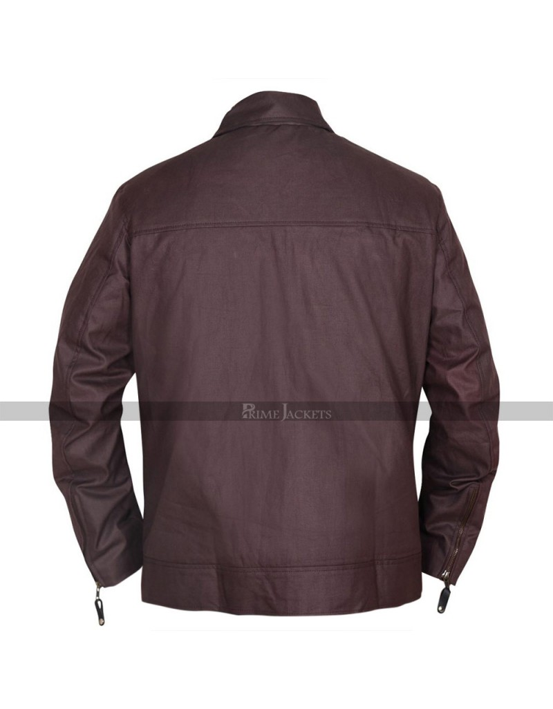 Canadian Actor Keanu Reeves Brown Jacket