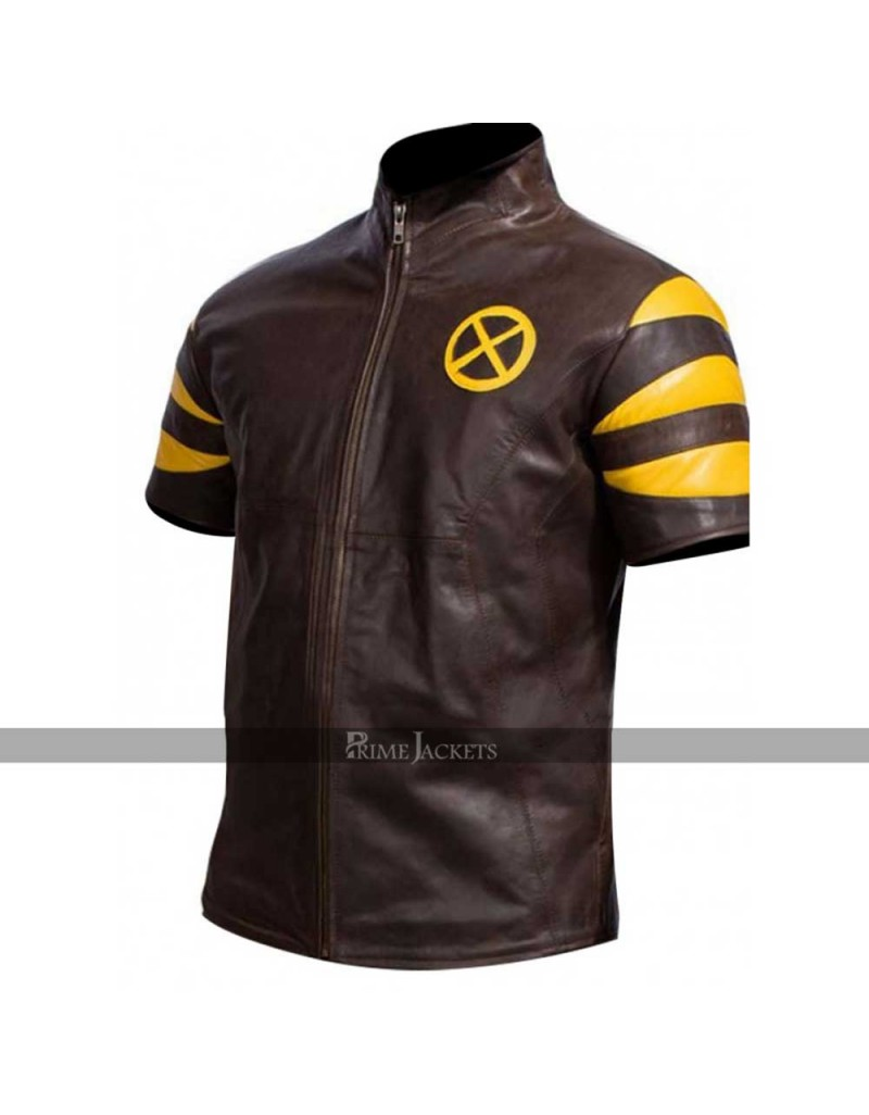 Beast X-Men Last Stand Hank Leather Vest Jacket