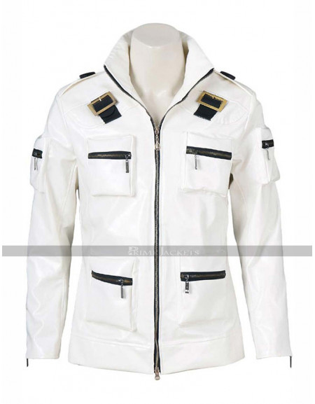 King of Fighters Kyo Kusanagi White Jacket