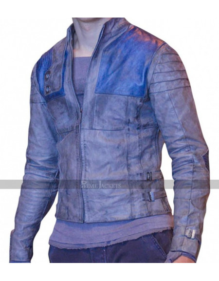 Seyg-El Krypton Cameron Cuffe Superman Leather Costume Jacket