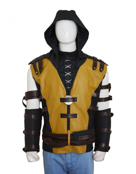 MORTAL KOMBAT LEGENDARY SCORPION X VEST