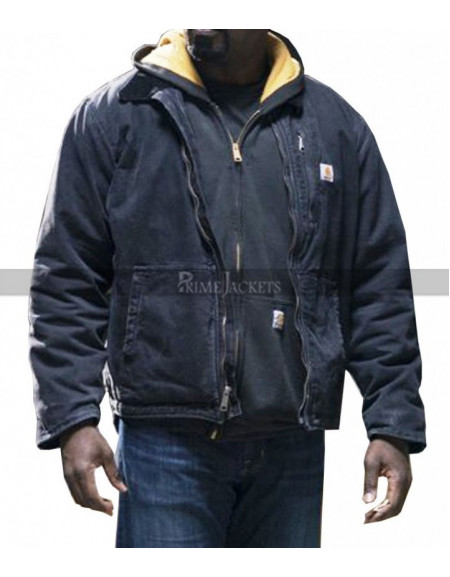 Luke Cage The Defenders Black Hoodie Jacket