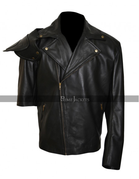 Mad Max Mel Gibson Road Warrior Black Jacket