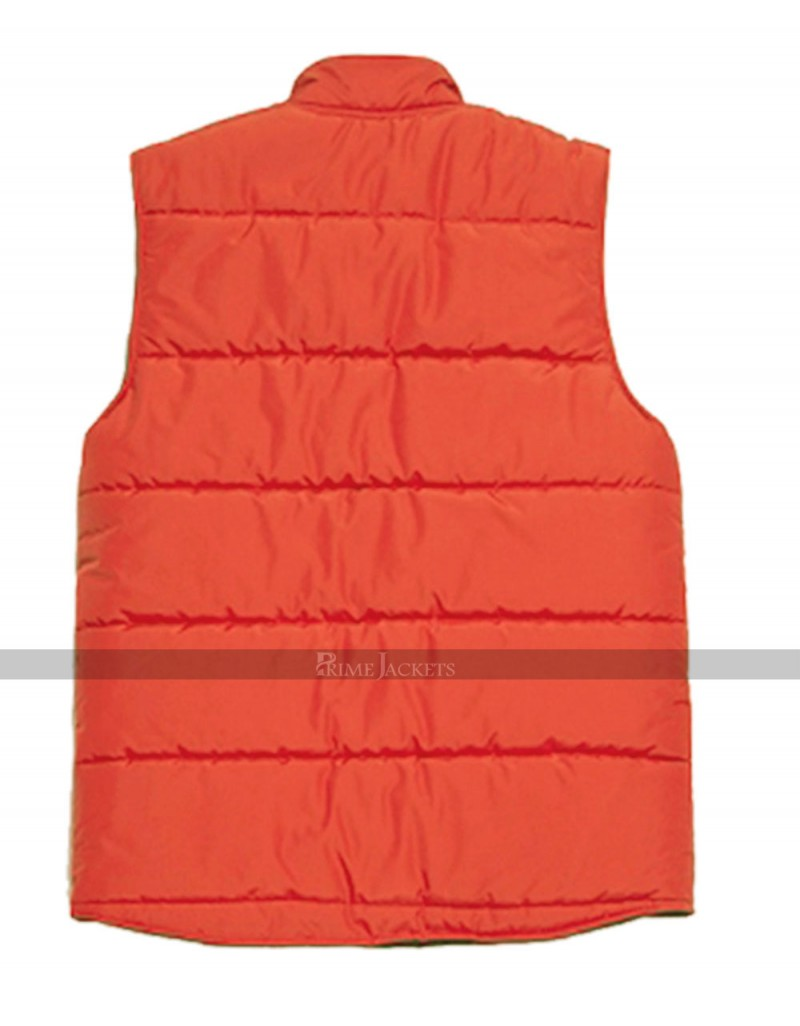 Mens Back To The Future Marty Mcfly Bomber Vest