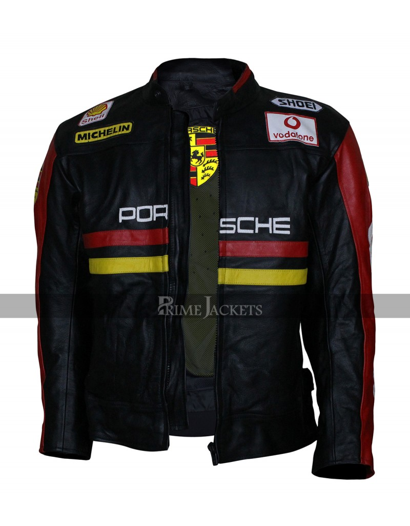 racing porsche leather jacket. Black Bedroom Furniture Sets. Home Design Ideas