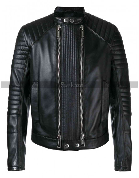 Mens Double Zipper Jacket