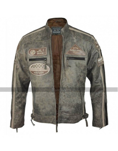 Racing Speed Motorcycles Aviator Classics Jacket