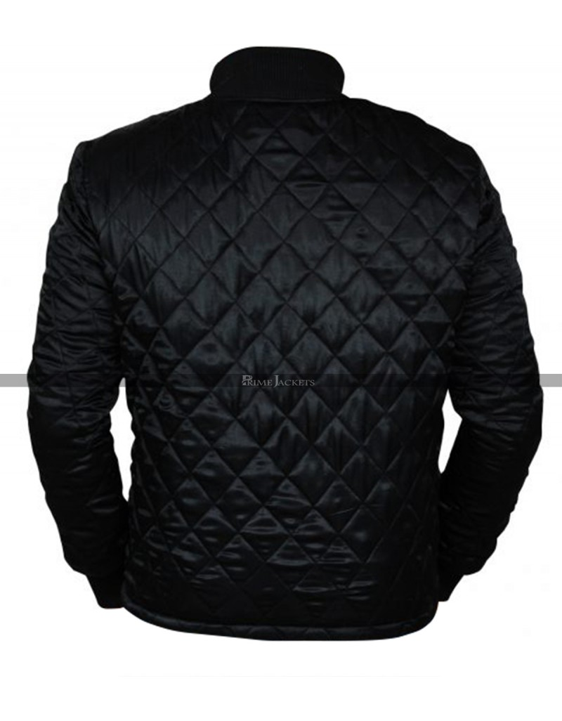crazy price check out usa cheap sale American Assassin Stan Hurley Quilted Black Jacket