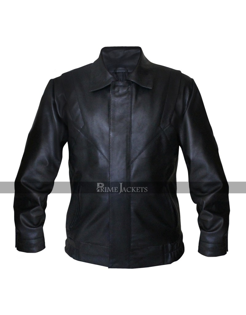 David Hasselhoff Knight Rider Leather Jacket