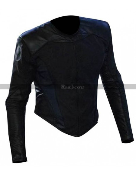 Agents of S.H.I.E.L.D. August Richards (Michael Peterson) Black Leather Jacket