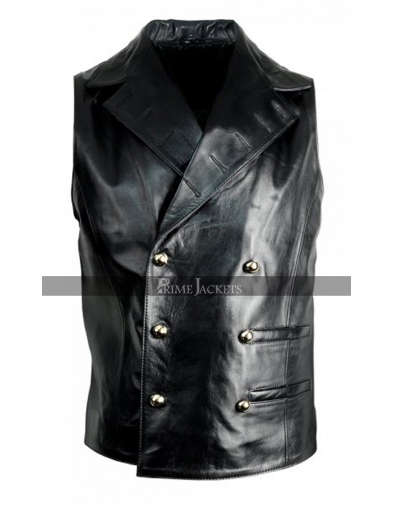 Military Mens Leather Steampunk Rock Designer Jacket Coat 7df8276c0d9