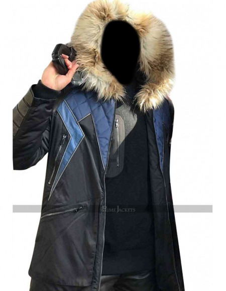 Crisis on Earth-X Captain Cold Citizen Parka Jacket
