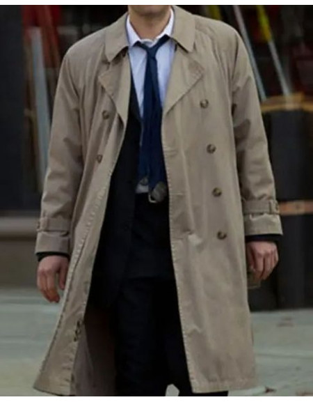 Supernatural Costume Angel Castiel Trench Coat
