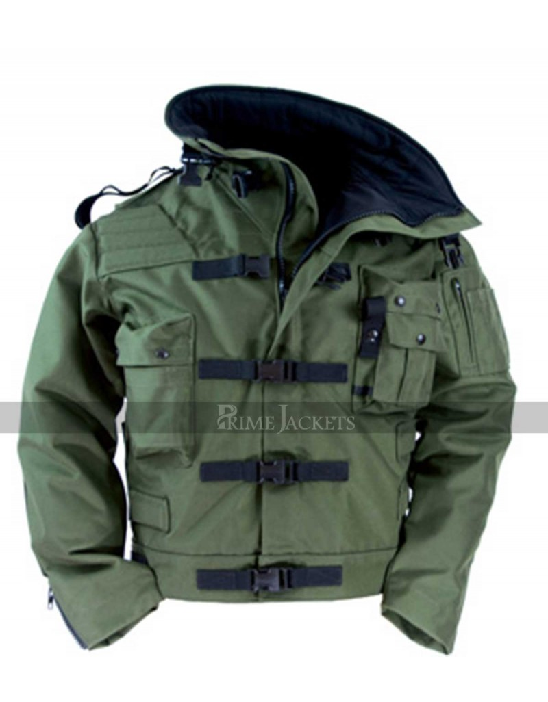 adam savage mythbusters green military jacket