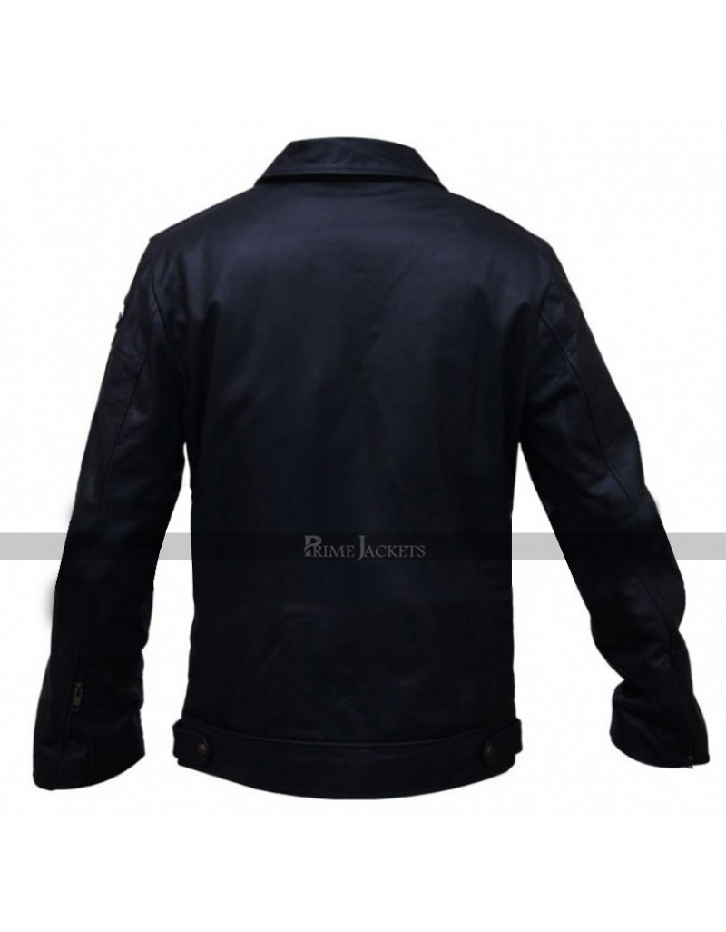 Aaron Paul Leather Jacket Need For Speed