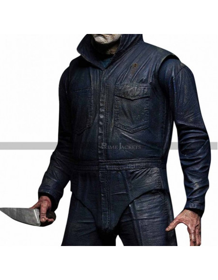 Halloween 2018 Michael Myers Blue Jacket Costume