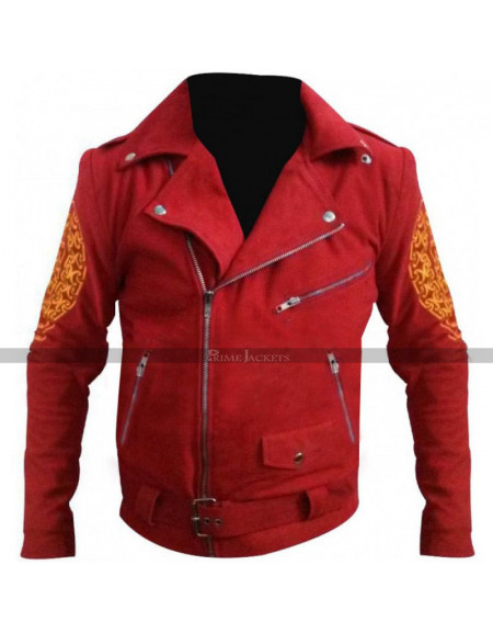Lorenzo Once Upon a Time in Mexico Enrique Iglesias Leather Jacket