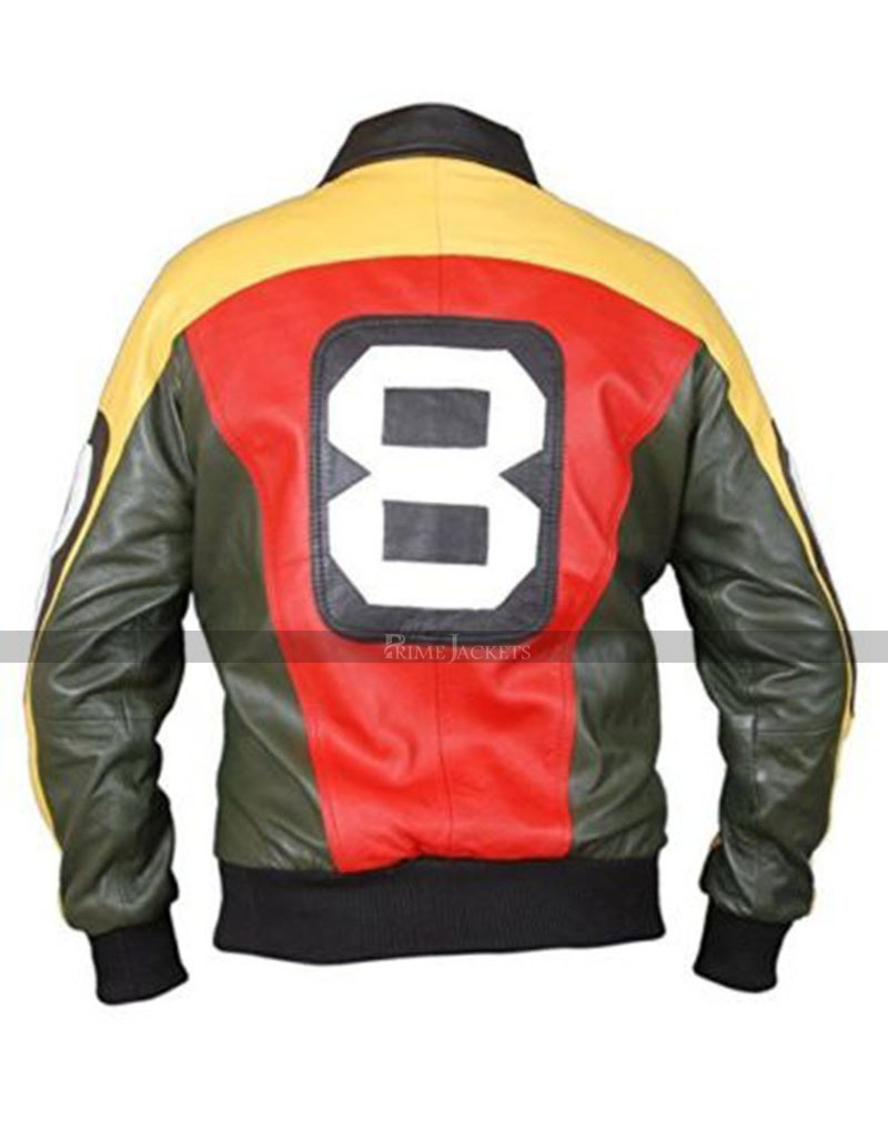 8 Ball David Puddy Bomber Jacket