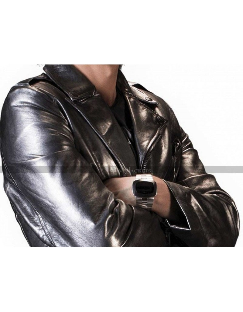 0f03dc5a4 Quicksilver X-Men Days of Future Past Leather Jacket